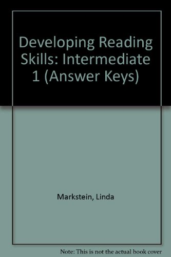 developing reading skills answer key by cengage learning on eltbooks 20 off. Black Bedroom Furniture Sets. Home Design Ideas