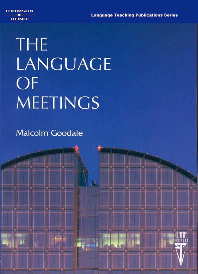 The Language of Meetings