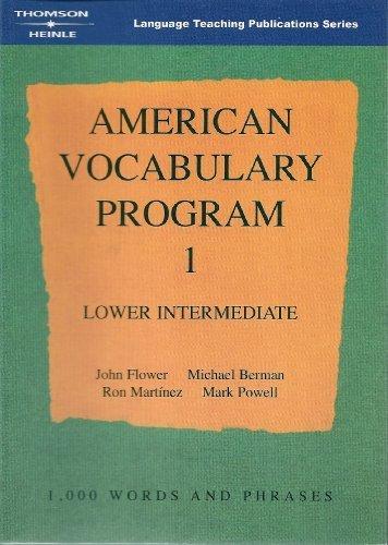 American Vocabulary Program