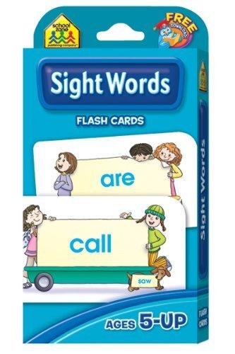 Activity - school zone flash cards