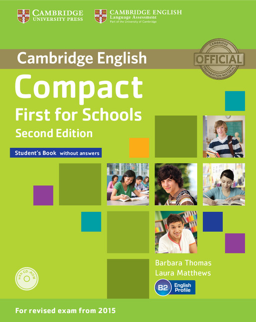 Compact First for Schools Second edition