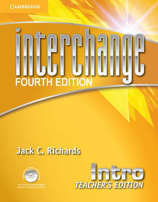 interchange 4th edition teacher s edition with assessment audio cd