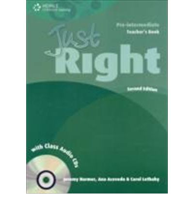 Just Right - British Edition Second Edition