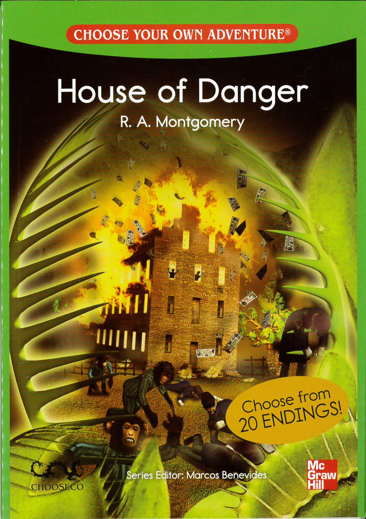 Choose Your Own Adventure House Of Danger 700 Headwords