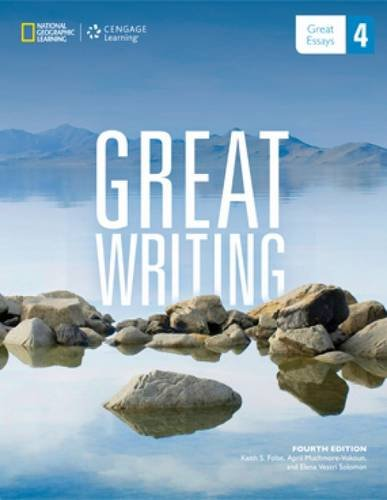 Great writing 4 great essays