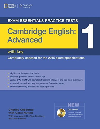 Exam Essentials Practice Tests Advanced Cae Student Book With Key And Dvd Rom Book 1