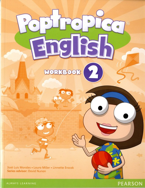 poptropica english workbook with audio cd レベル 2 by series
