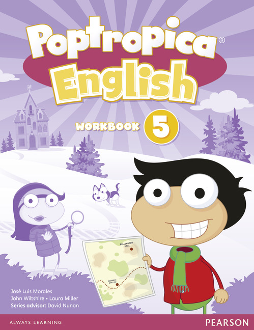 poptropica english workbook with audio cd レベル 5 by series