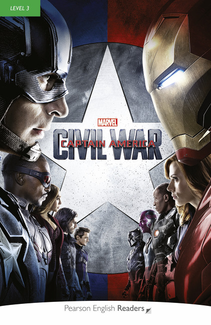 Marvel's Captain America: Civil War (Level 3) <br /><i>Pearson English Readers Level 3</i>