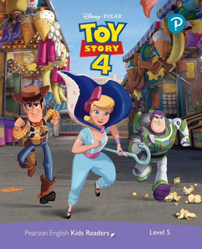 Disney PIXAR Toy Story 4 (レベル5) <br /><i>Pearson English Kids Readers: Disney Kids Readers</i>
