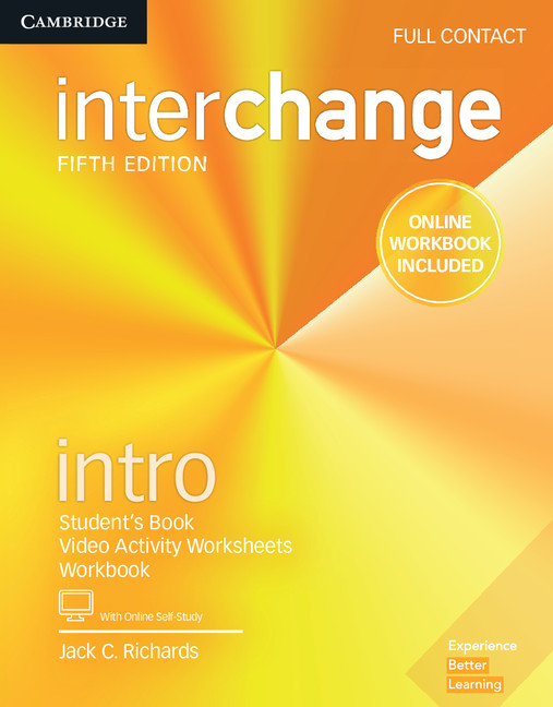 Interchange 5th Edition - Full Contact with Online Self