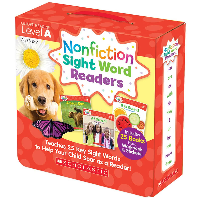 Box Set with CD (Level A) <br /><i>Sight Word Readers</i>