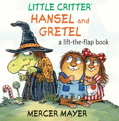 Picture book 絵本 - little critter lift-the-flap