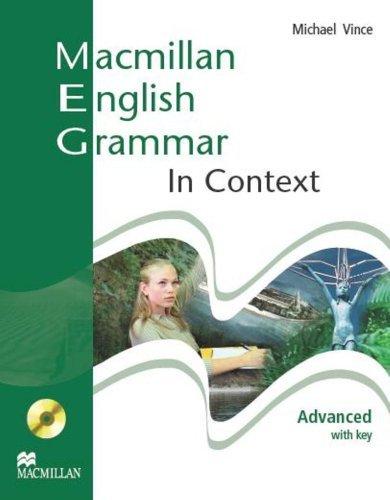 Macmillan English Grammar In Context