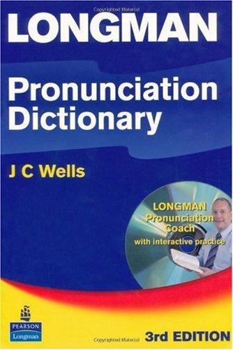 Longman Pronunciation Dictionary with CD-ROM