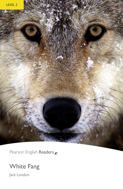 White Fang Book Cover : Pearson english readers level white fang mp audio cd