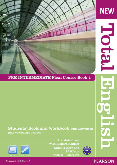 New Total English Pre-intermediate with ActiveBook and DVD