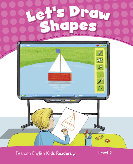 Let's Draw Shapes (Level2) <br /><i>Pearson Kids Readers</i>