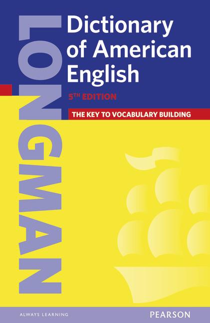 Longman Dictionary of American English 5th Edition