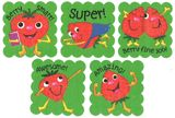 Stationery - cartoon fruit scratch'n sniff