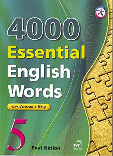 4000 essential english words student book with answer key レベル