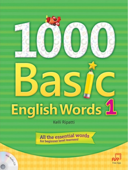 1000 basic english words student book with audio cd レベル 1 by
