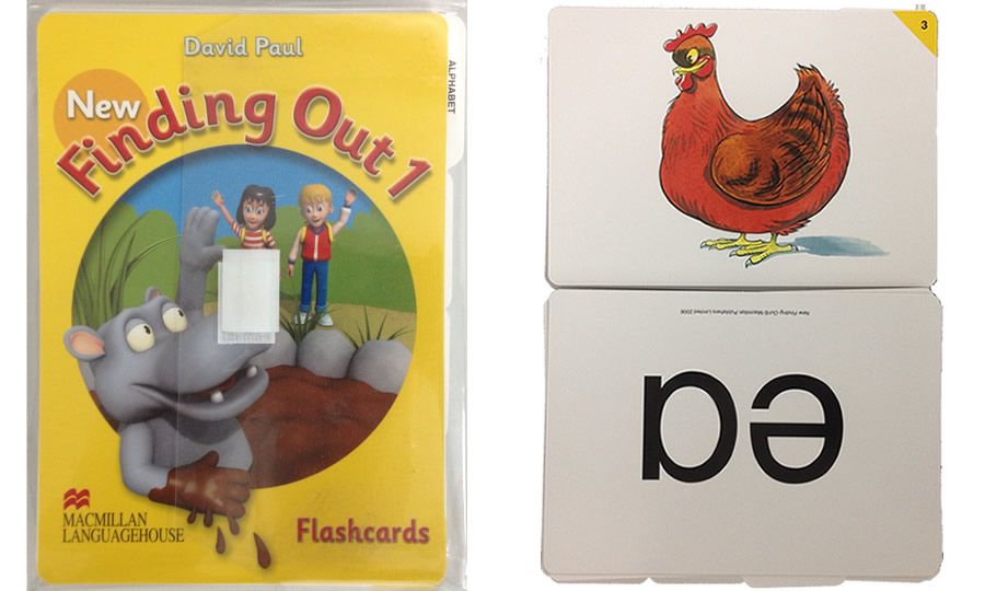 New Finding Out Flash Cards