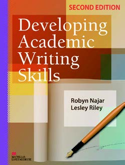 Advanced Models of Academic Writing   Ms Anne Taib Advanced Academic Writing III  Student Book Cover