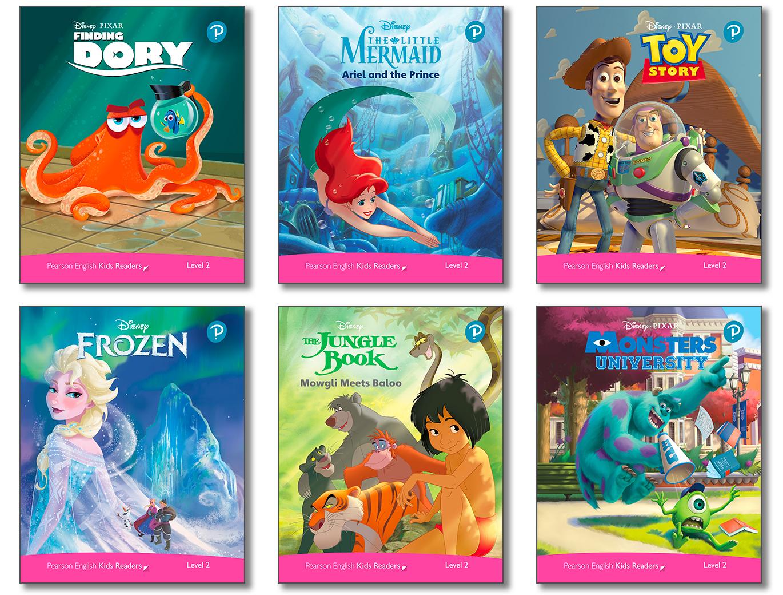 Level Pack (6 Titles) (Level2) <br /><i>Disney Kids Readers</i>