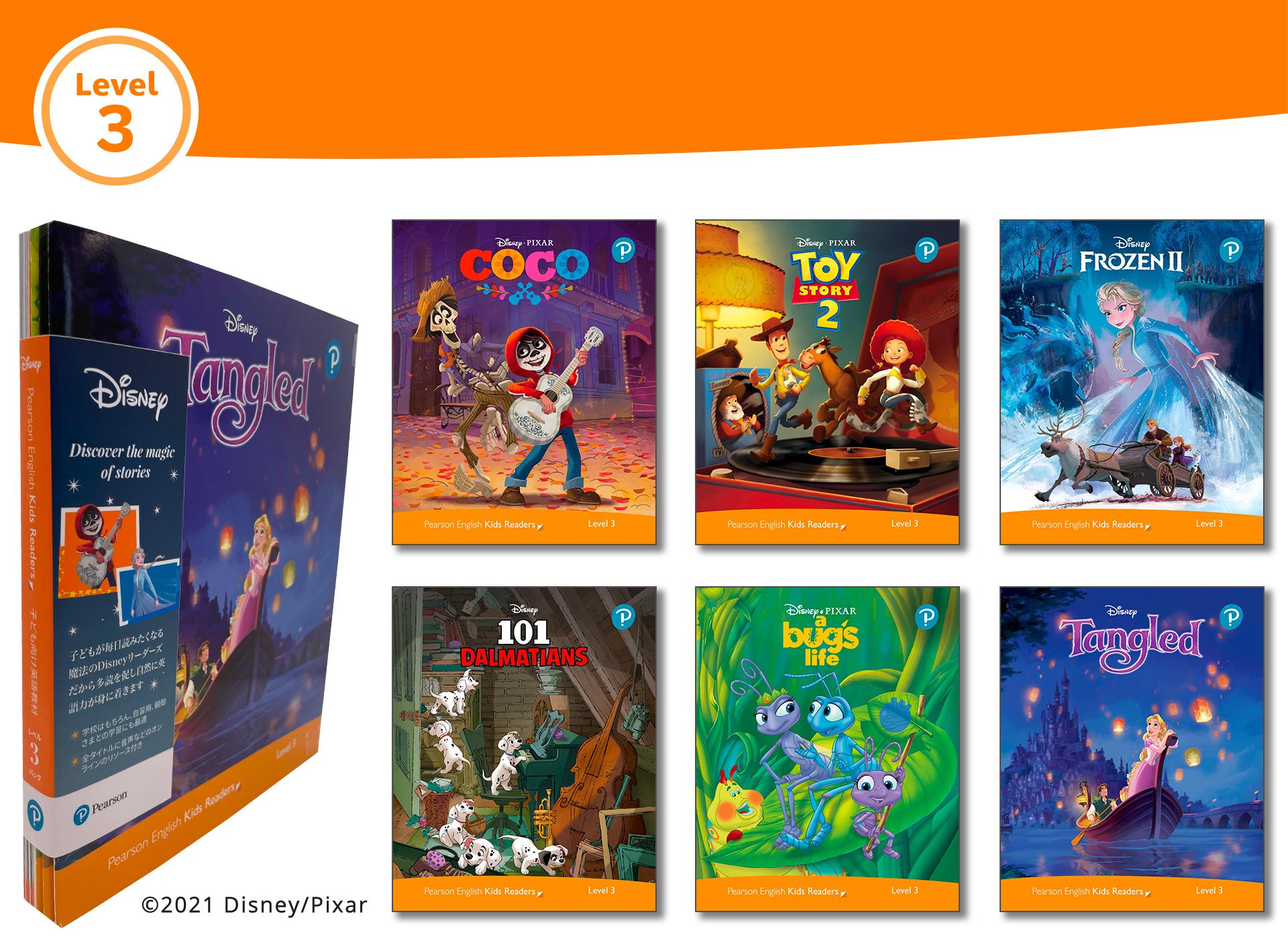 Level Pack (6 Titles) (Level 3) <br /><i>Disney Kids Readers</i>