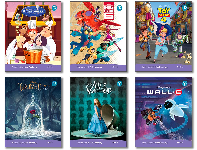 Level Pack (6 Titles) (レベル5) <br /><i>Disney Kids Readers</i>