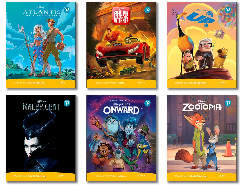 Level Pack (6 Titles) (Level6) <br /><i>Disney Kids Readers</i>