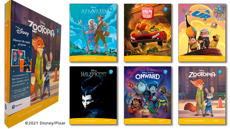 Level Pack (6 Titles) (レベル6) <br /><i>Disney Kids Readers</i>