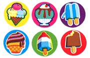 Stationery - Superspots Stickers