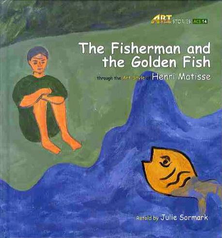 Vintage fish record storybook