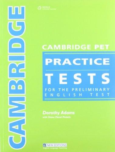 Cambridge Practice Tests - Teacher Book (Cambridge PET Practice Tests)