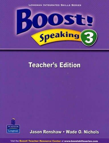 Boost! Speaking