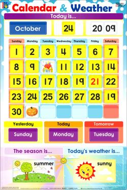 Decoration - calendar