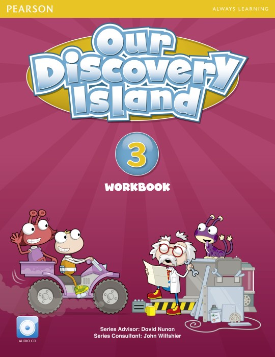 Our Discovery Island Workbook with Audio CD (Level 3)