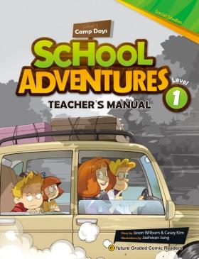 School Adventures Graded Comic Readers