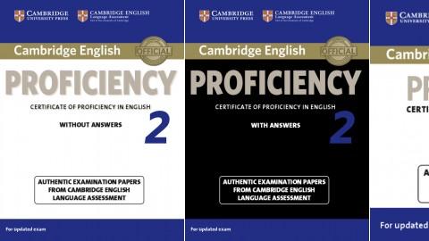Cambridge English Proficiency 2 for updated exam