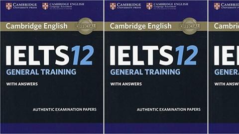 Cambridge IELTS 12 General Training