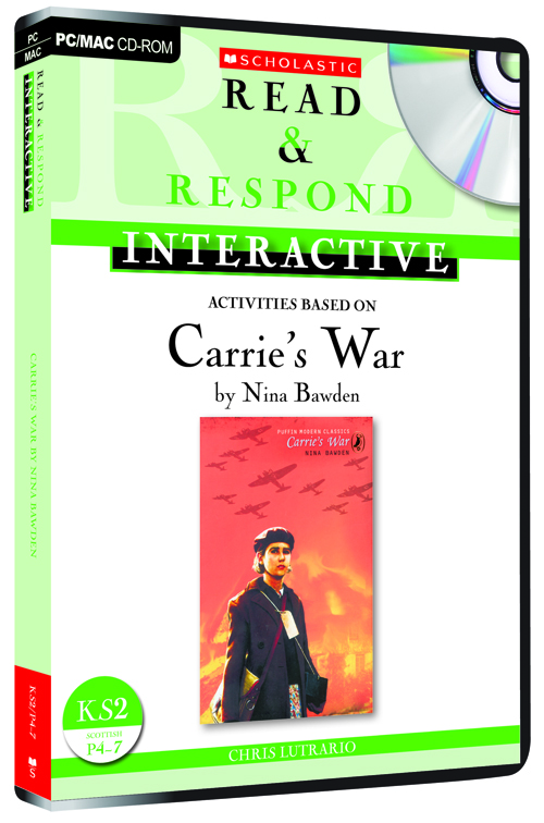 Penguin Book Cover Carrie S War ~ Read respond interactive carrie s war by chris